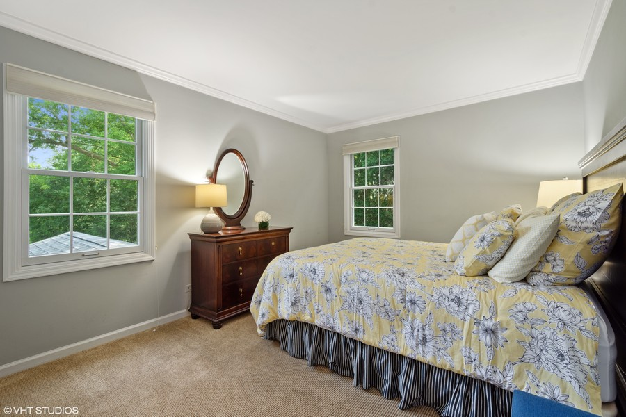 Real Estate Photography - 510 Shady Lane, Barrington, IL, 60010 - 2nd Bedroom