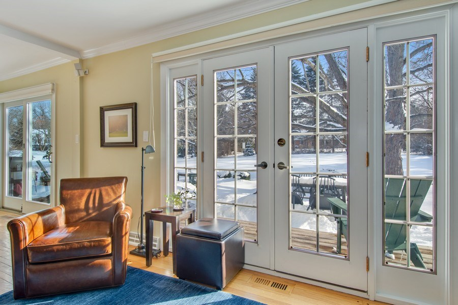 Real Estate Photography - 425 W. Sunset Rd., Barrington, IL, 60010 - View from Family Room