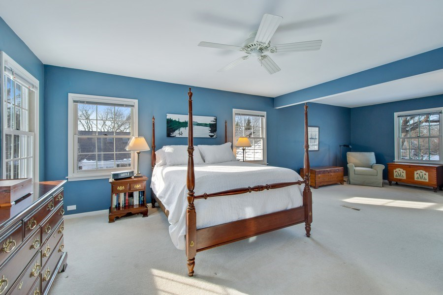 Real Estate Photography - 425 W. Sunset Rd., Barrington, IL, 60010 - Master Bedroom