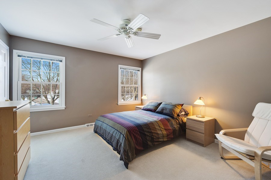 Real Estate Photography - 425 W. Sunset Rd., Barrington, IL, 60010 - 2nd Bedroom