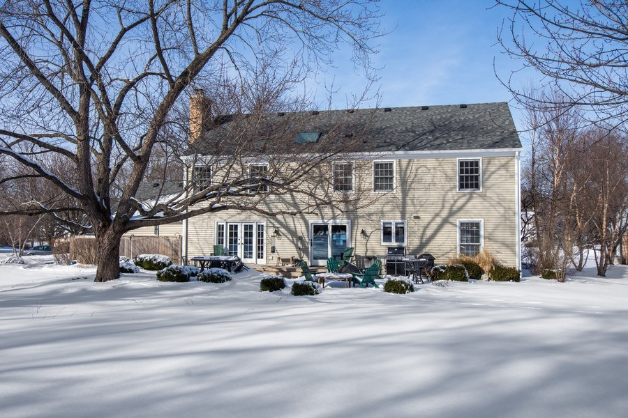 Real Estate Photography - 425 W. Sunset Rd., Barrington, IL, 60010 - Rear View