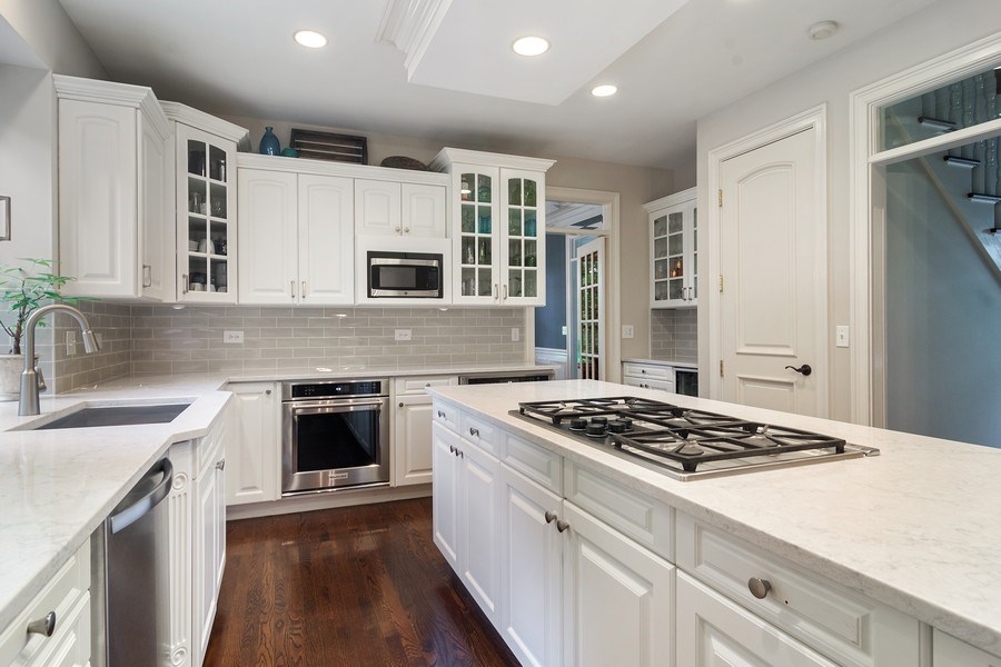 Real Estate Photography - 440 Tower Road, Barrington, IL, 60010 - Kitchen