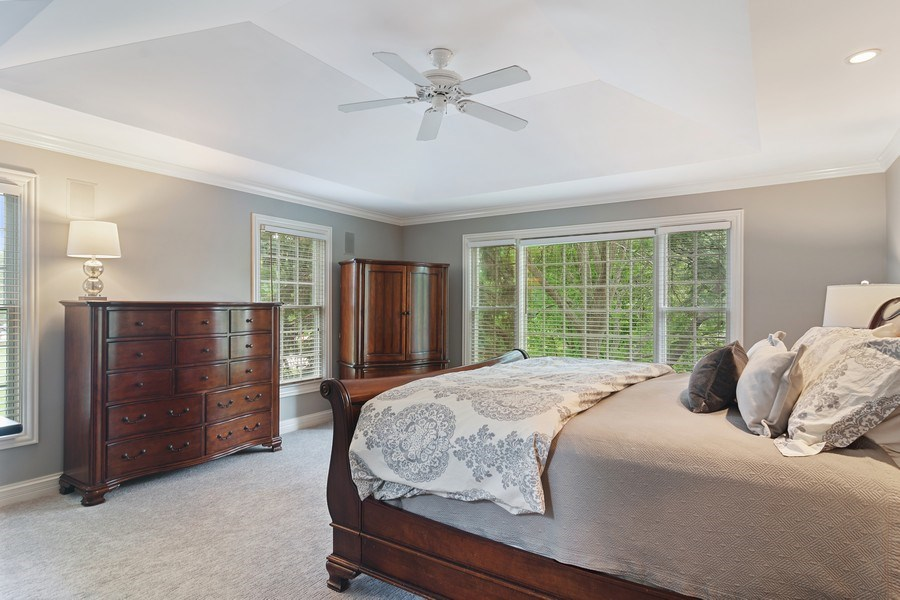 Real Estate Photography - 440 Tower Road, Barrington, IL, 60010 - Master Bedroom