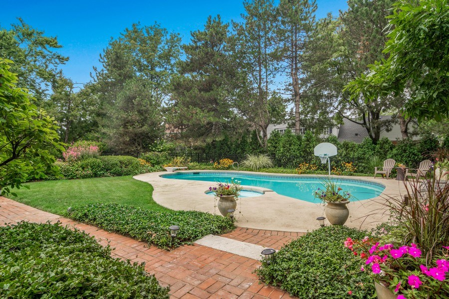 Real Estate Photography - 440 Tower Road, Barrington, IL, 60010 - Pool