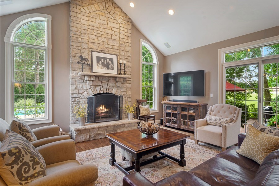 Real Estate Photography - 440 Tower Road, Barrington, IL, 60010 - Family Room