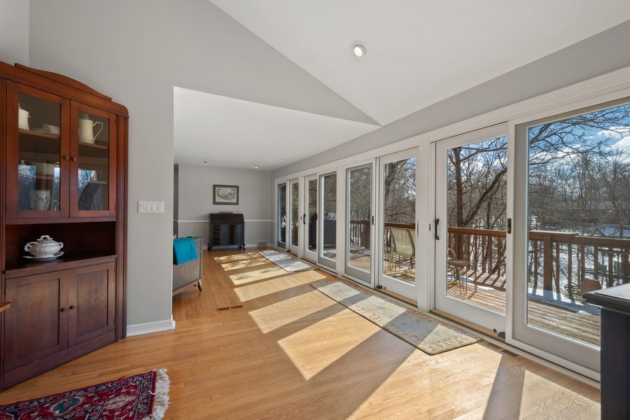Real Estate Photography - 475 Brookside, North Barrington, IL, 60010 - Living Room/Dining Room View