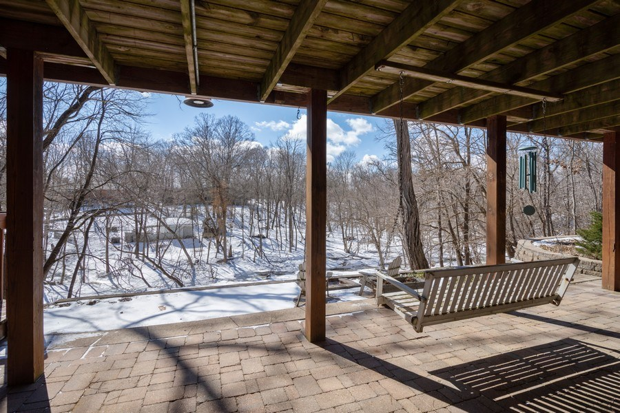 Real Estate Photography - 475 Brookside, North Barrington, IL, 60010 - Lower Patio