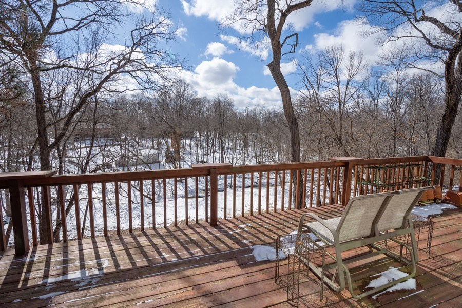 Real Estate Photography - 475 Brookside, North Barrington, IL, 60010 - Balcony