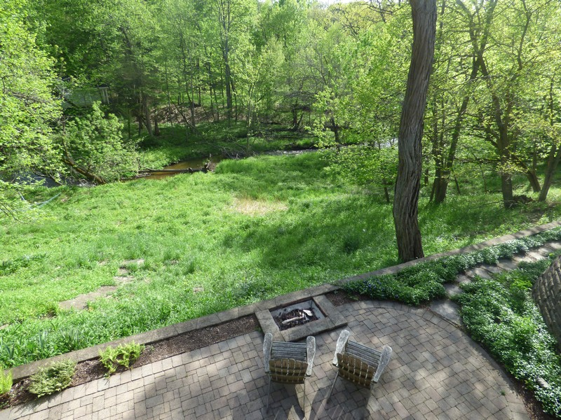 Real Estate Photography - 475 Brookside, North Barrington, IL, 60010 - Patio & Water View from Deck