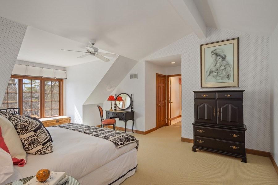 Real Estate Photography - 246 Oak Knoll Rd., Barrington HIlls, IL, 60010 - 2nd Bedroom Ensuite