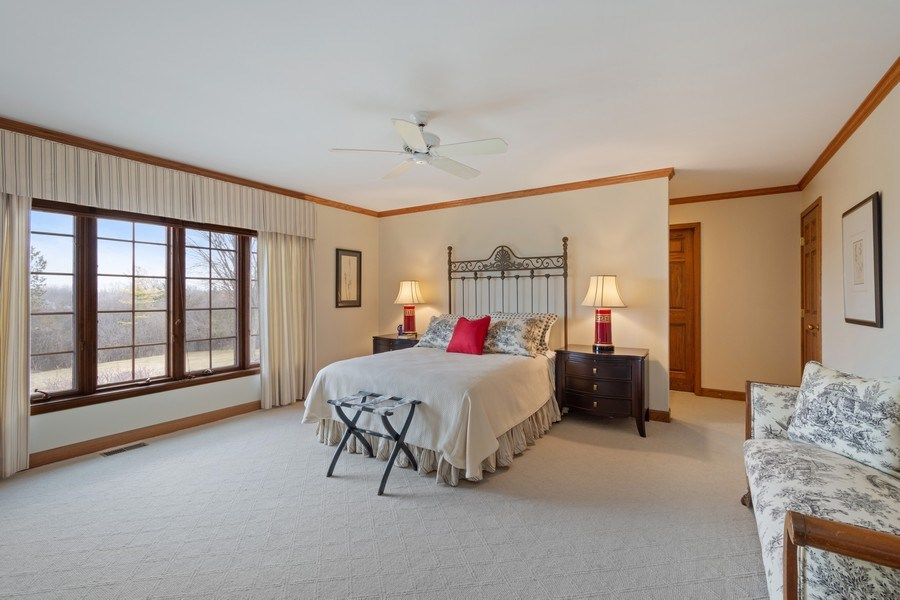 Real Estate Photography - 246 Oak Knoll Rd., Barrington HIlls, IL, 60010 - 4th Bedroom