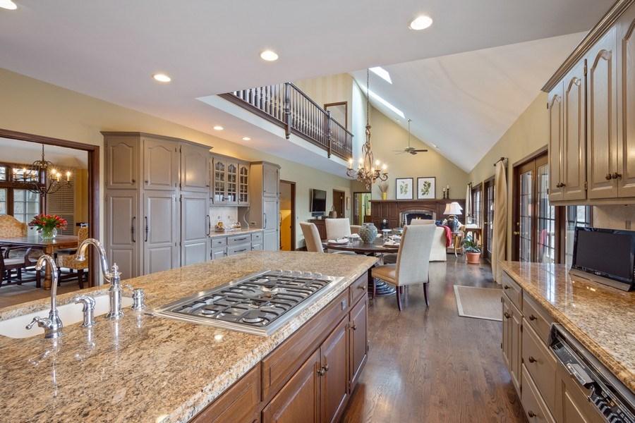 Real Estate Photography - 246 Oak Knoll Rd., Barrington HIlls, IL, 60010 - Kitchen