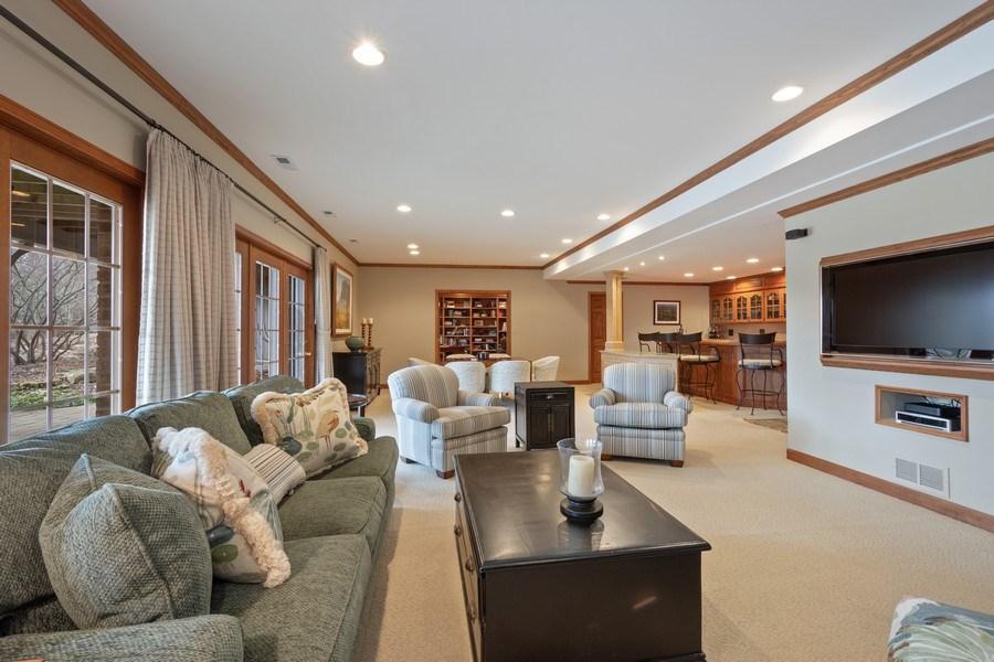 Real Estate Photography - 246 Oak Knoll Rd., Barrington HIlls, IL, 60010 - REC Room