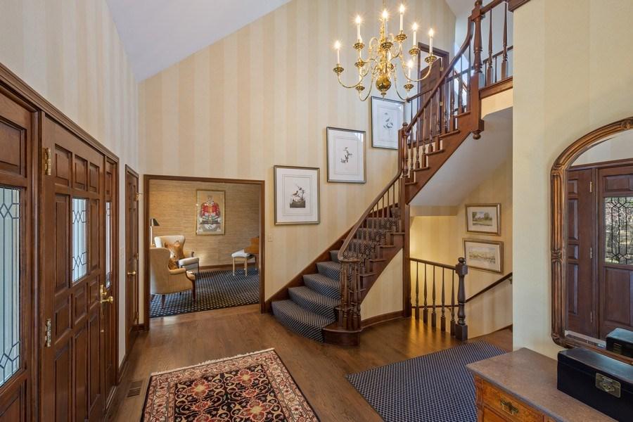 Real Estate Photography - 246 Oak Knoll Rd., Barrington HIlls, IL, 60010 - Foyer
