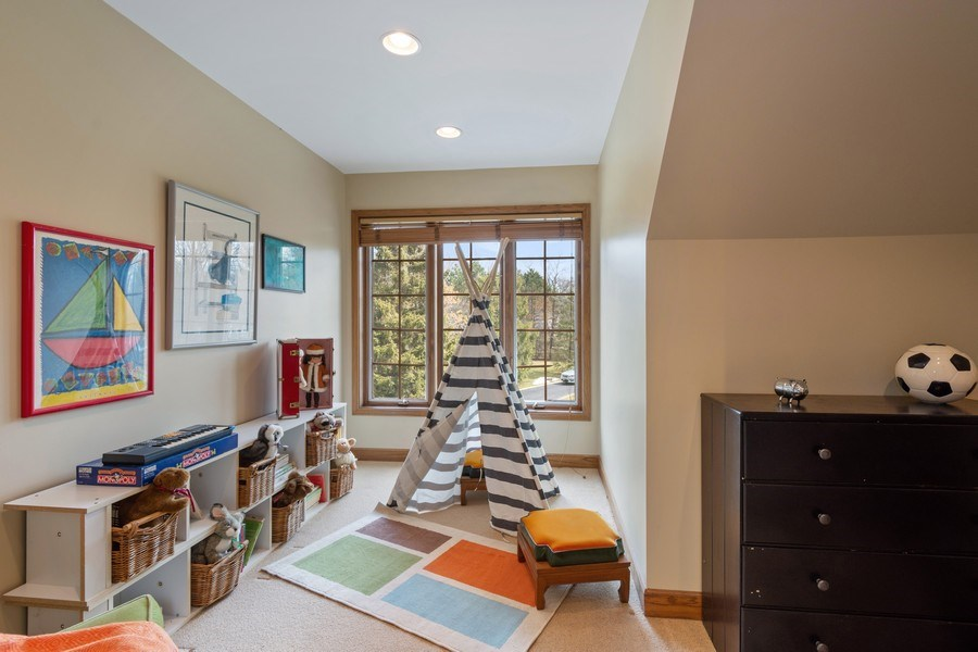 Real Estate Photography - 246 Oak Knoll Rd., Barrington HIlls, IL, 60010 - Play Room