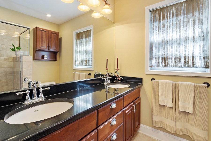 Real Estate Photography - 506 Elm Road, Barrington, IL, 60010 - Master Bathroom