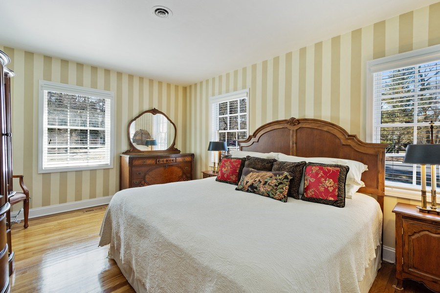 Real Estate Photography - 506 Elm Road, Barrington, IL, 60010 - Master Bedroom