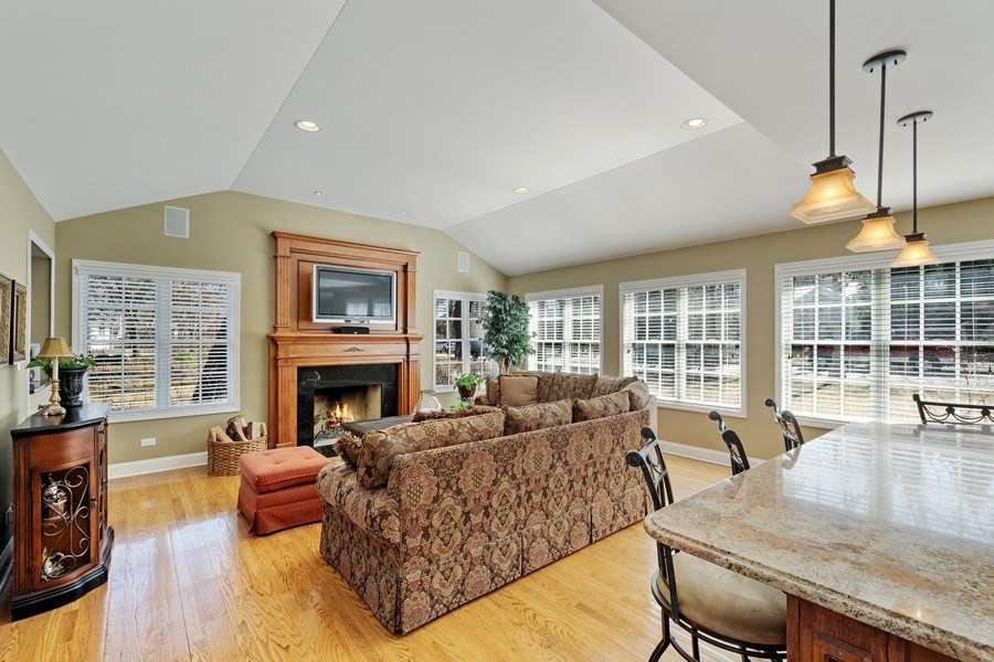 Real Estate Photography - 506 Elm Road, Barrington, IL, 60010 - Family Room