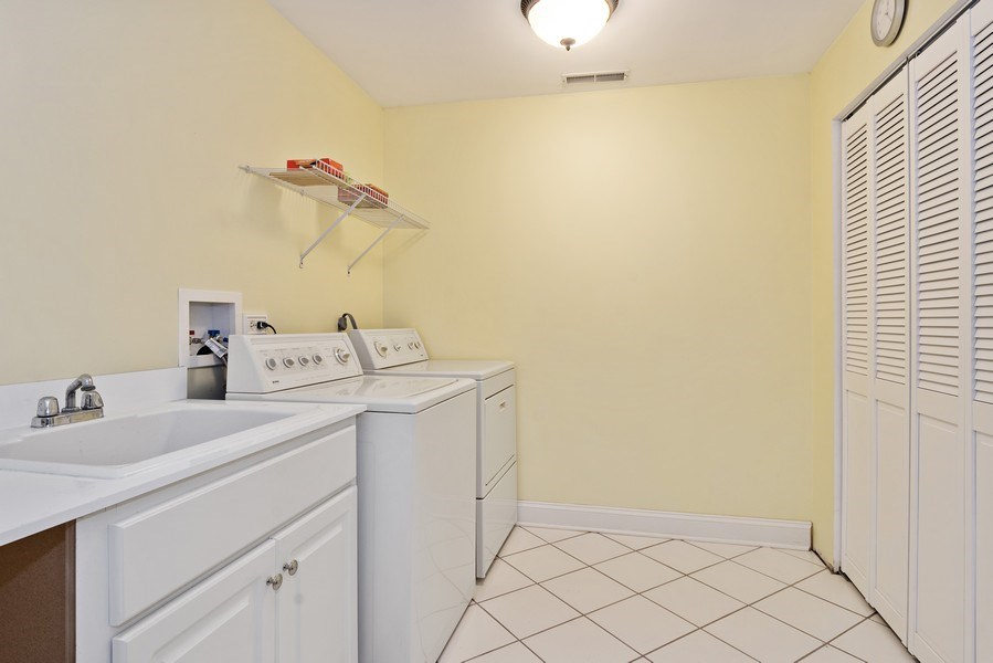 Real Estate Photography - 506 Elm Road, Barrington, IL, 60010 - Laundry Room