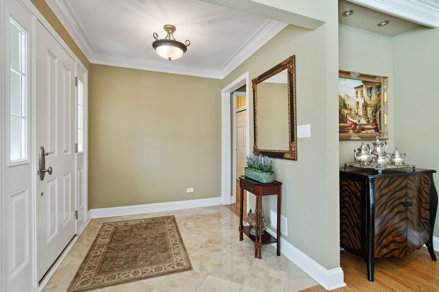 Real Estate Photography - 506 Elm Road, Barrington, IL, 60010 - Foyer