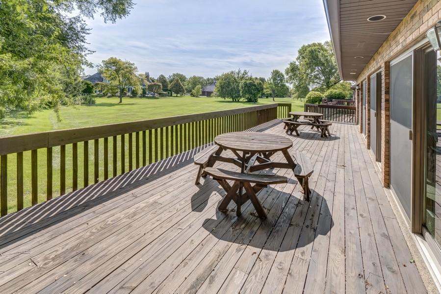 Real Estate Photography - 11 Corey Drive, South Barrington, IL, 60010 - Deck