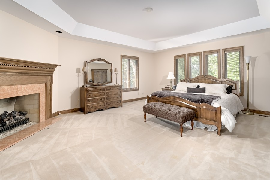 Real Estate Photography - 11 Corey Drive, South Barrington, IL, 60010 - Master Bedroom
