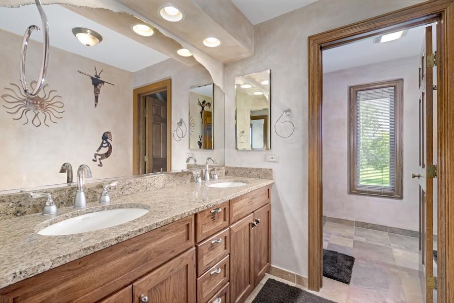 Real Estate Photography - 11 Corey Drive, South Barrington, IL, 60010 - Hall Bath - 2nd Level
