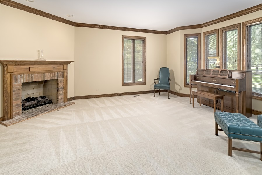 Real Estate Photography - 11 Corey Drive, South Barrington, IL, 60010 - Living Room