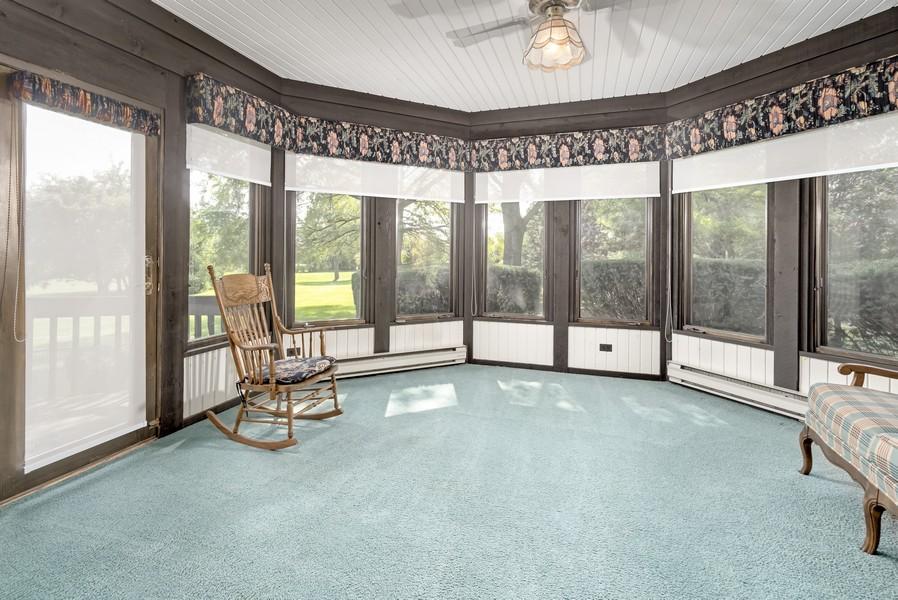 Real Estate Photography - 11 Corey Drive, South Barrington, IL, 60010 - Sunroom