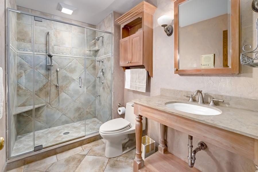 Real Estate Photography - 11 Corey Drive, South Barrington, IL, 60010 - Bathroom - Main Level