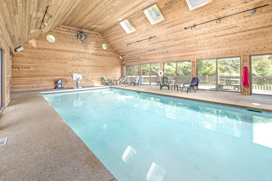 Real Estate Photography - 11 Corey Drive, South Barrington, IL, 60010 - Indoor Pool