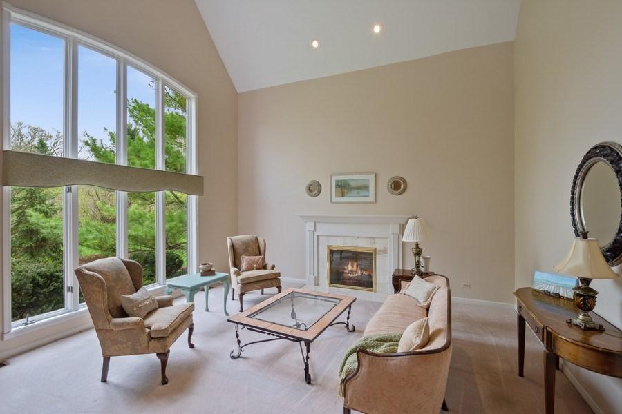 Real Estate Photography - 22425 N Linden Dr., Lake Barrington, IL, 60010 - Living Room