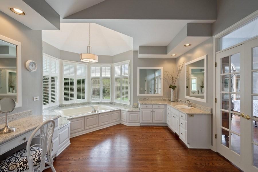 Real Estate Photography - 22425 N Linden Dr., Lake Barrington, IL, 60010 - Master Bathroom