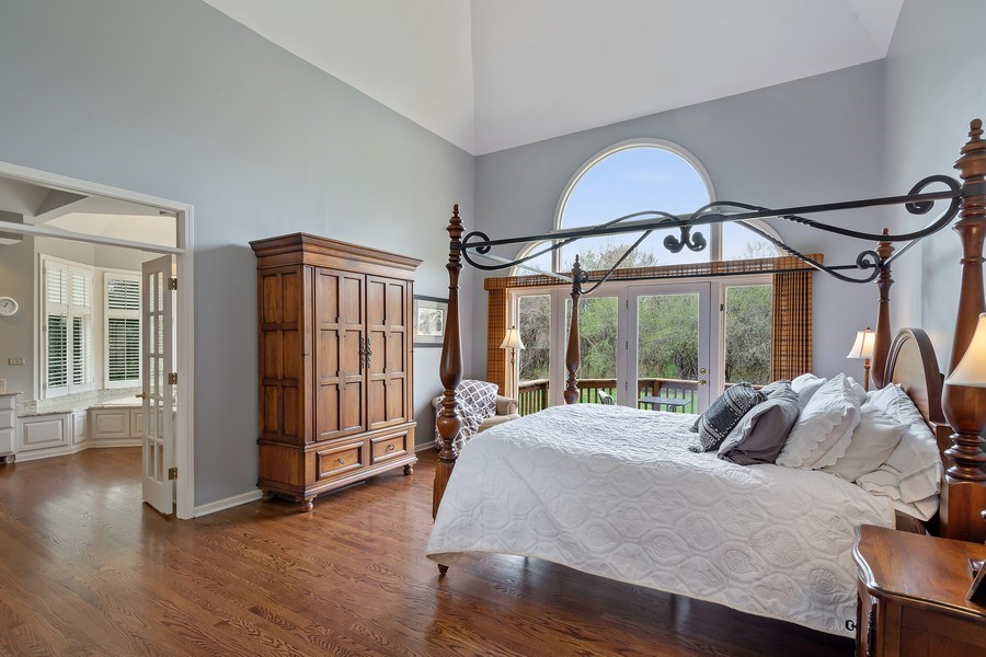 Real Estate Photography - 22425 N Linden Dr., Lake Barrington, IL, 60010 - First Floor Master Suite