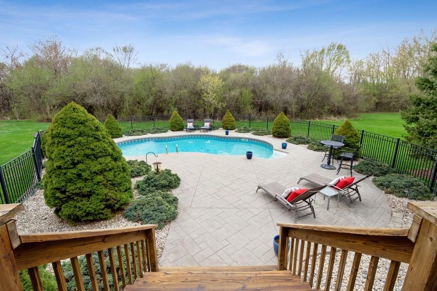Real Estate Photography - 22425 N Linden Dr., Lake Barrington, IL, 60010 - Pool