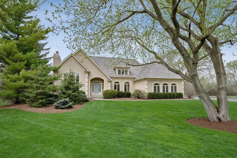 Real Estate Photography - 22425 N Linden Dr., Lake Barrington, IL, 60010 - Front View