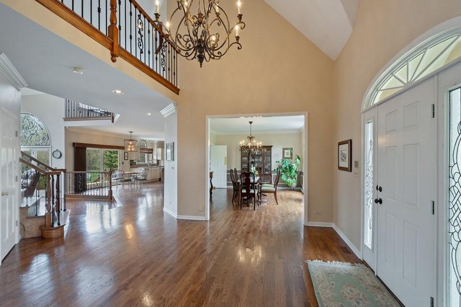 Real Estate Photography - 22425 N Linden Dr., Lake Barrington, IL, 60010 - Foyer