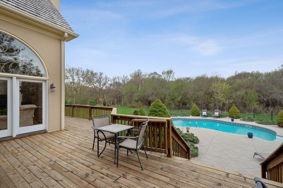 Real Estate Photography - 22425 N Linden Dr., Lake Barrington, IL, 60010 - Deck