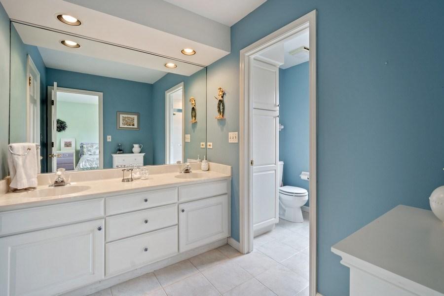 Real Estate Photography - 22425 N Linden Dr., Lake Barrington, IL, 60010 - 2nd Bathroom