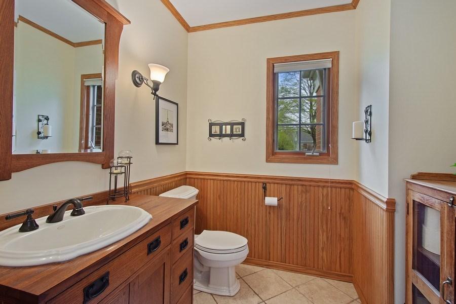 Real Estate Photography - 243 Linden Road, Barrington, IL, 60010 - 3rd Bathroom