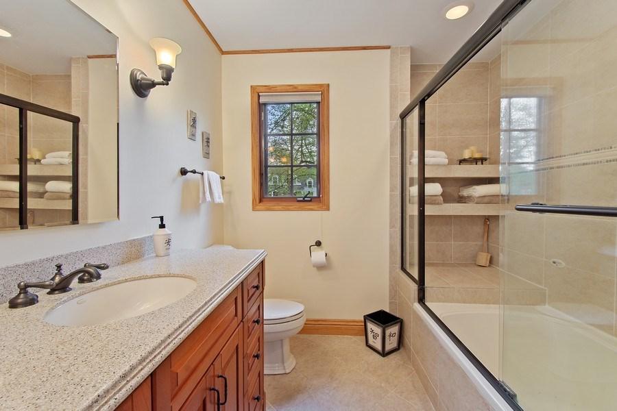 Real Estate Photography - 243 Linden Road, Barrington, IL, 60010 - Master Bathroom