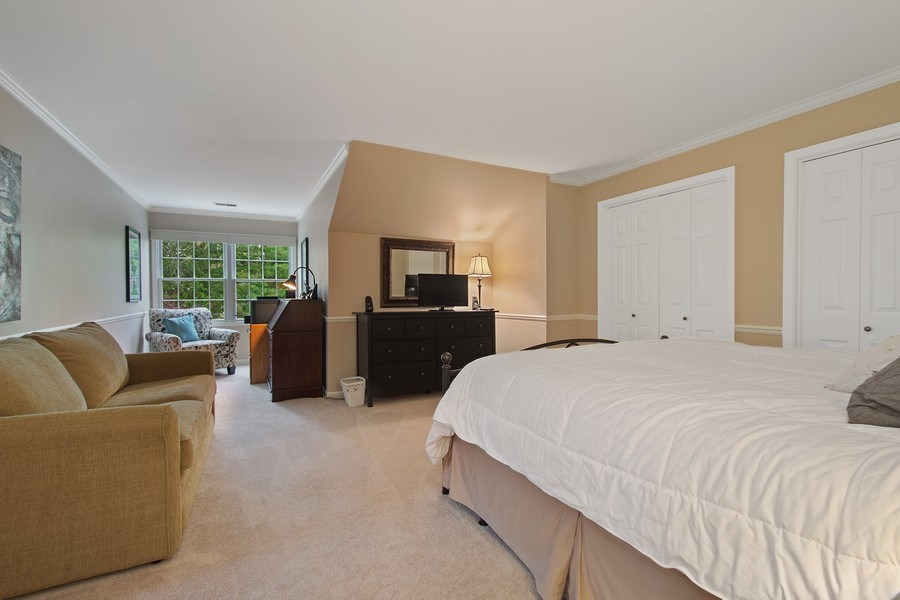 Real Estate Photography - 243 Linden Road, Barrington, IL, 60010 - 2nd Bedroom