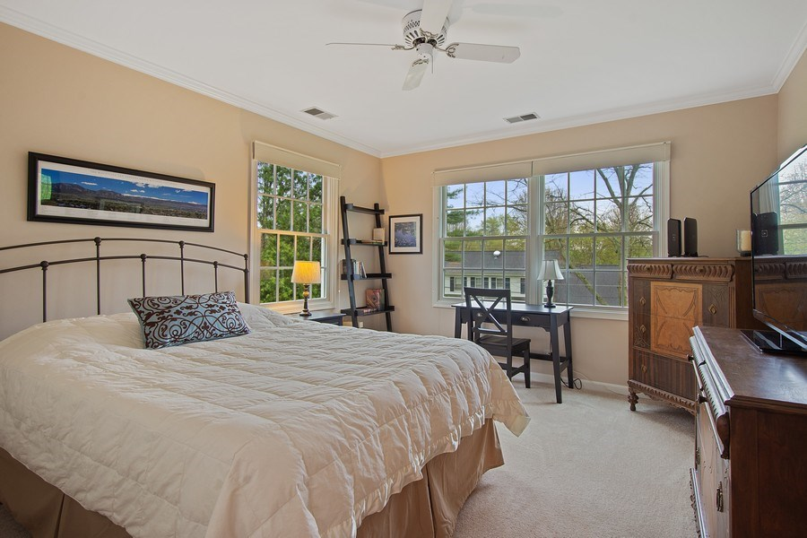Real Estate Photography - 243 Linden Road, Barrington, IL, 60010 - 3rd Bedroom