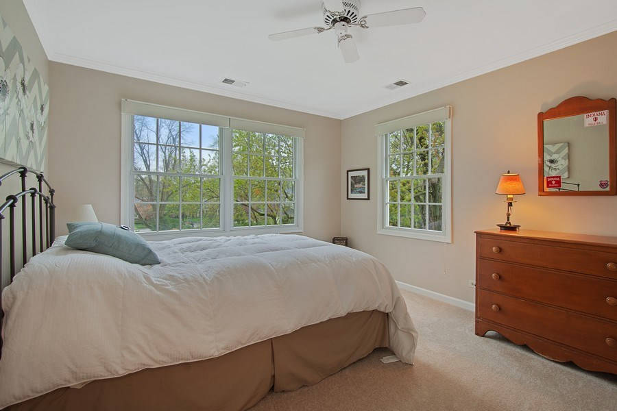Real Estate Photography - 243 Linden Road, Barrington, IL, 60010 - 4th Bedroom
