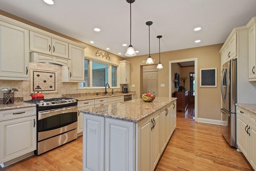 Real Estate Photography - 243 Linden Road, Barrington, IL, 60010 - Kitchen