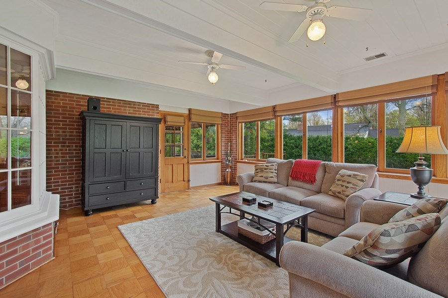 Real Estate Photography - 243 Linden Road, Barrington, IL, 60010 - Family Room