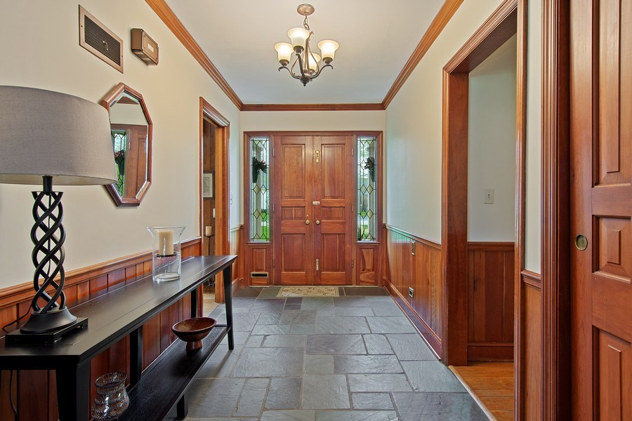 Real Estate Photography - 243 Linden Road, Barrington, IL, 60010 - Foyer