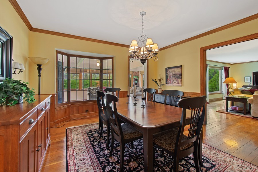 Real Estate Photography - 243 Linden Road, Barrington, IL, 60010 - Dining Room