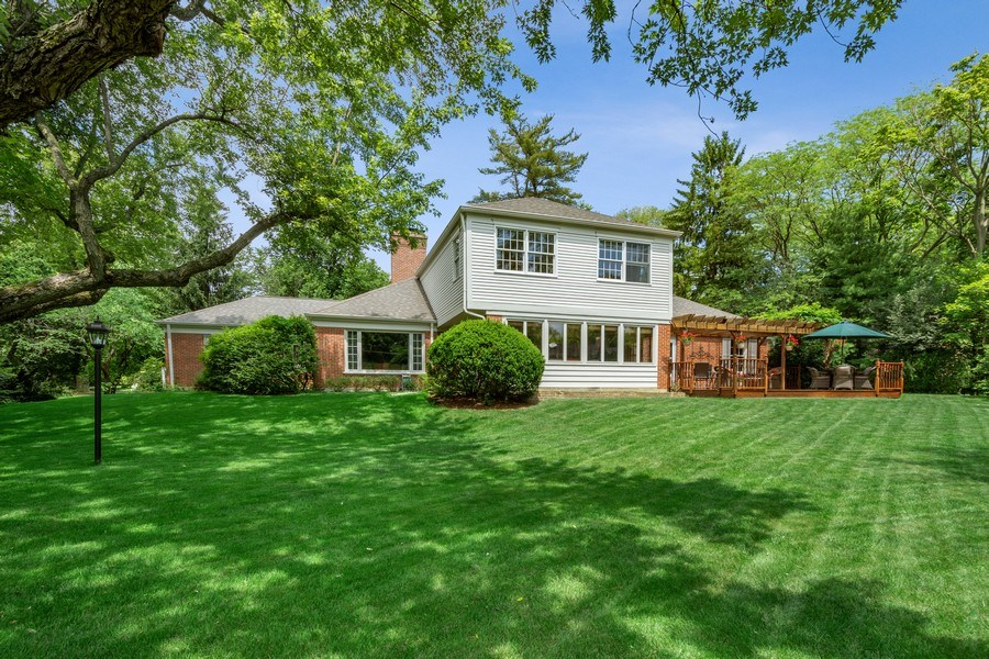 Real Estate Photography - 243 Linden Road, Barrington, IL, 60010 - Rear View