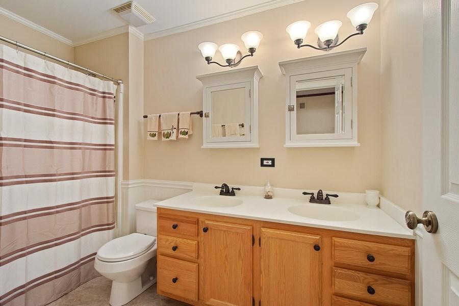 Real Estate Photography - 243 Linden Road, Barrington, IL, 60010 - Bathroom